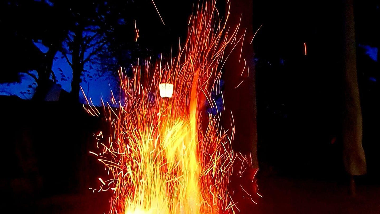 Feuerschale mit Bedacht nutzen