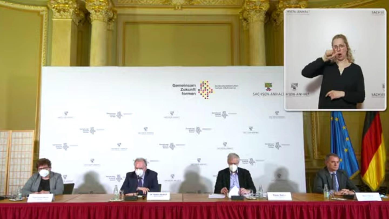 Landespressekonferenz zur neuen Verordnung zur Eindämmung der Corona-Pandemie