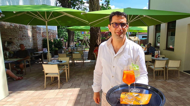 Gelate Mio empfängt Gäste nun auch im Garten & Terrasse