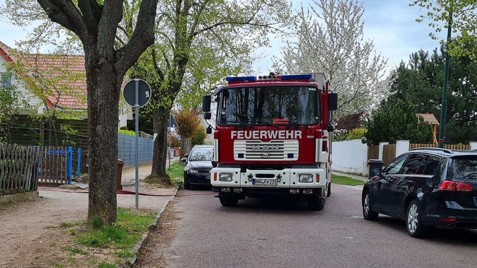 """Feuerwehreinsatz in der Kita """"Sonnenkäfer"""" in Neuborna"""