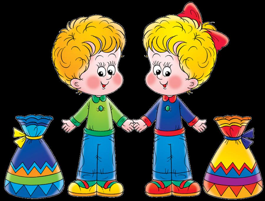 Картинки детские девочка и мальчик