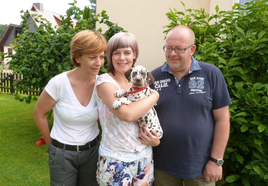Schon ganz früh am Samstag, 18.07. ist unsere lütte Lotte abgeholt worden.