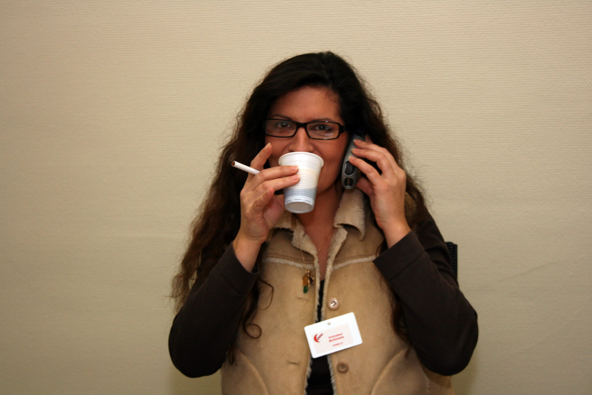 Pause café pour Isa