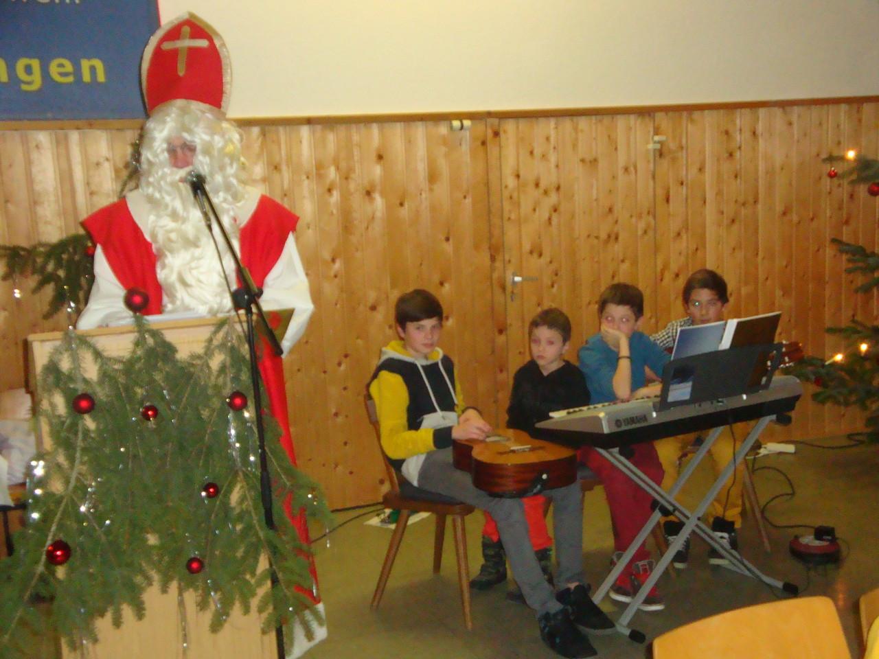Nikolaus liest die Leviten!