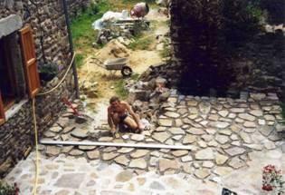travaux extérieurs en 2001