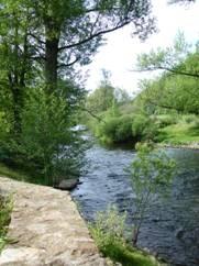 La vallée de l'Alagnon, baignades, pêche