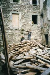 démolitions intérieures