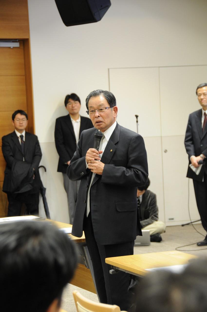 ILCアジア-九州推進会議 副代表 末吉氏