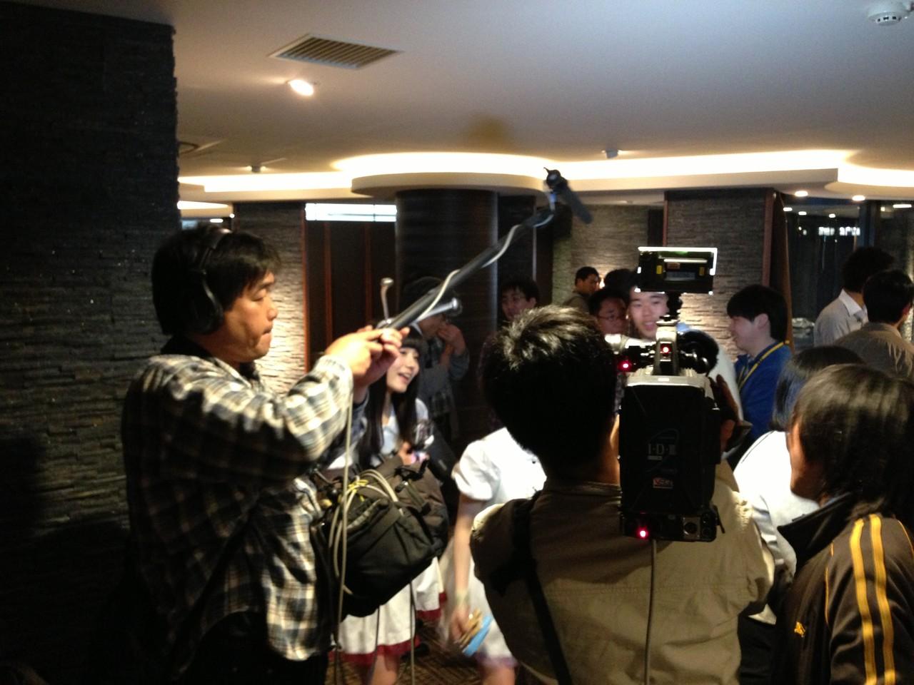 第9回は何と、福岡のアイドルグループLinQさんが取材にやってきました。