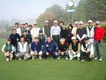 ゴルフ大会の様子