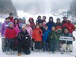 スキー&スノーボードの様子