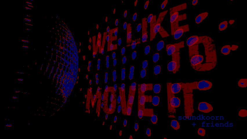 we like to move it