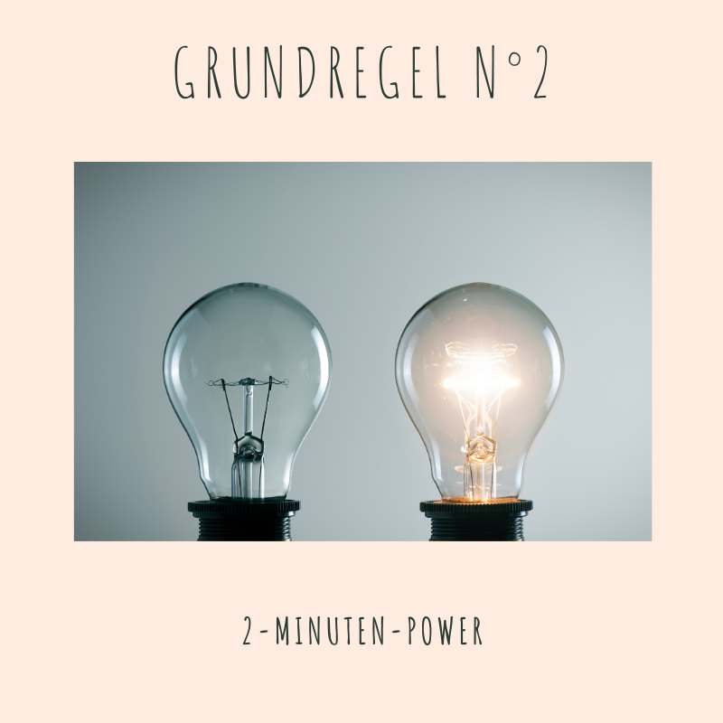 Grundregel N°2