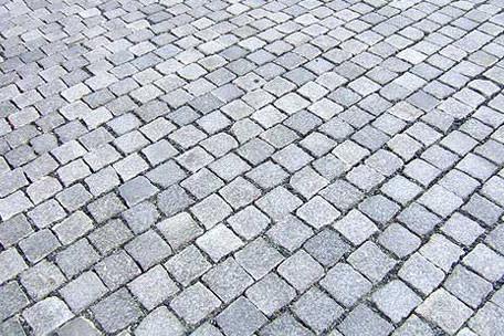 Polnisches Granitpflaster