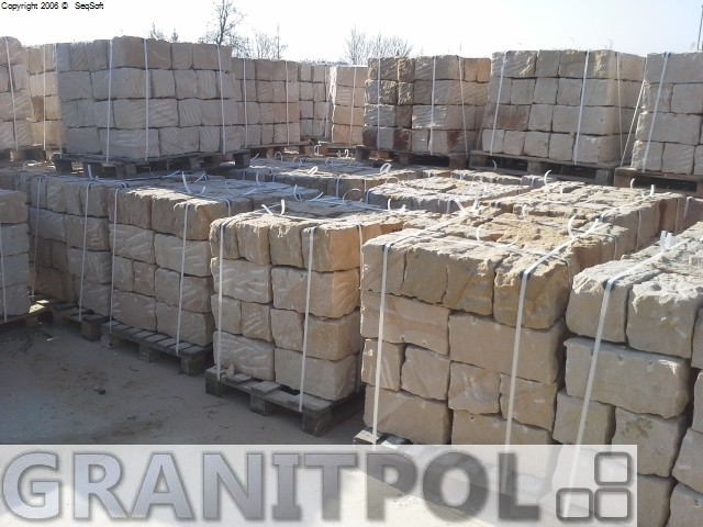 Günstige Sandsteine direkt vom Produzenten aus Polen nach Berlin liefern