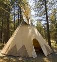 comment fabriquer un tipi tepee plan tuto images ecoclash partage de savoirs. Black Bedroom Furniture Sets. Home Design Ideas