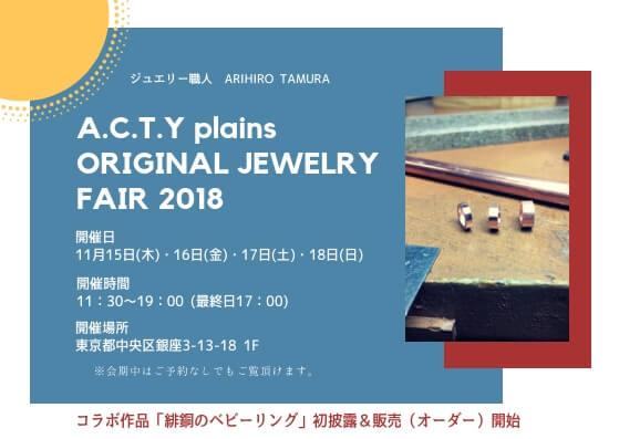 a.c.t.y plains fair 2018
