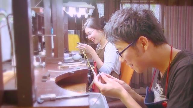 東京でマリッジリングを手作りする