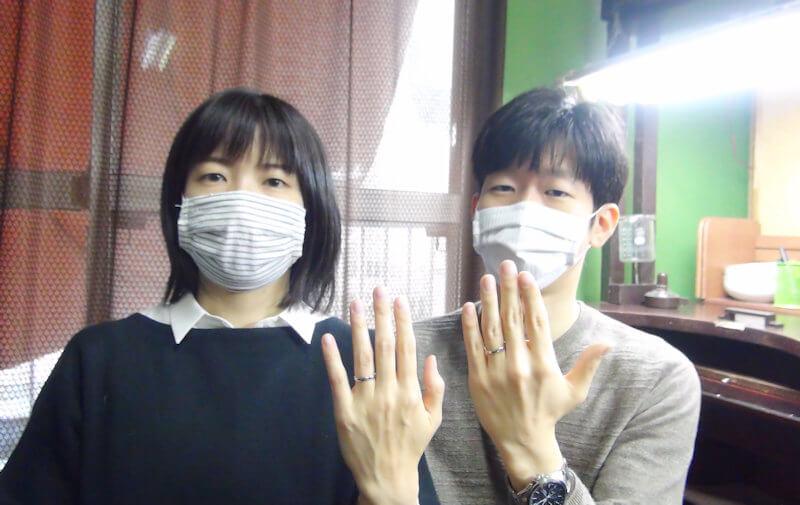 手作り結婚指輪の感想
