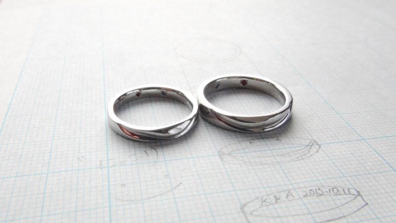 美しさとあたたかさ、優しさに包まれた結婚指輪