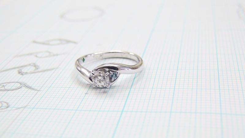 T.I様の手作り婚約指輪