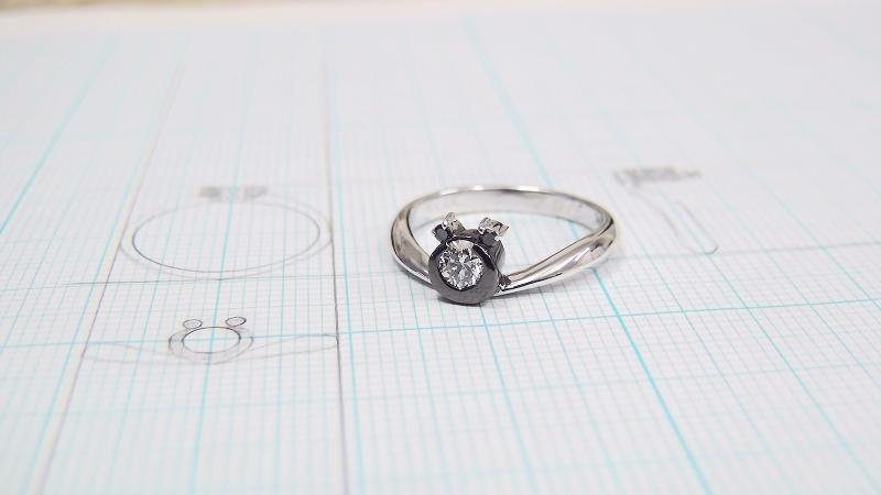 東京で婚約指輪を手作り「パンダリング」