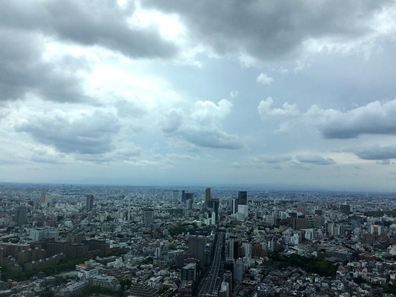 六本木ヒルズ49階からの眺め