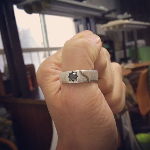 いわせてリング手作り指輪
