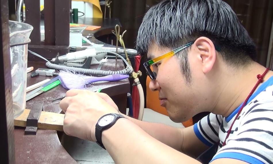 婚約指輪を東京で手作り