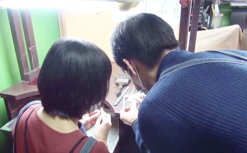 手作り結婚指輪のコンセプト「会話」