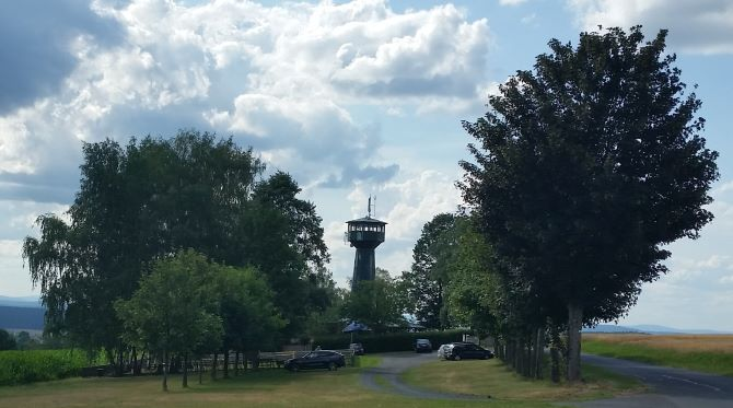 Grenzlandturm bei Bad Neualbenreuth