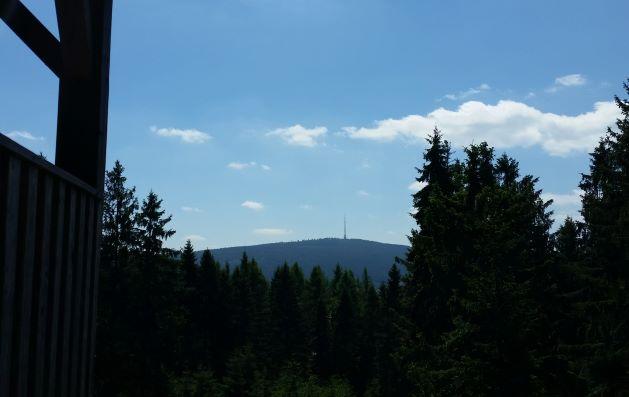 Blick vom Wetzstein zum Ochsenkopf
