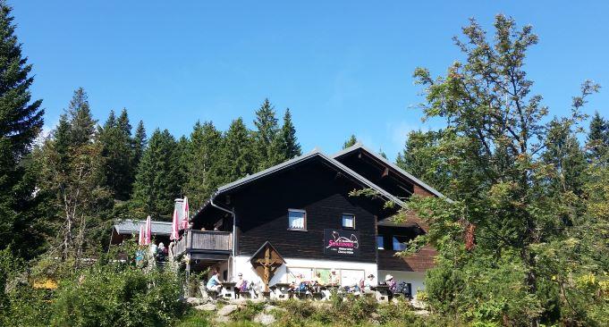 Chamer Hütte am Kleinen Arber