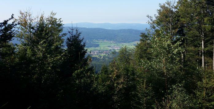Blick auf Arnbruck