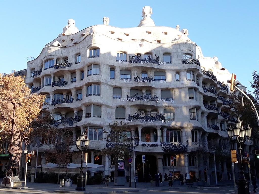 9 интересных фактов о Доме Мила (Casa Mila) Антонио Гауди