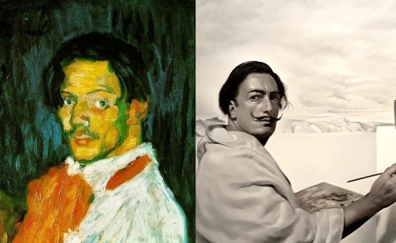 Сальвадор Дали и Пабло Пикассо - друзья или враги?