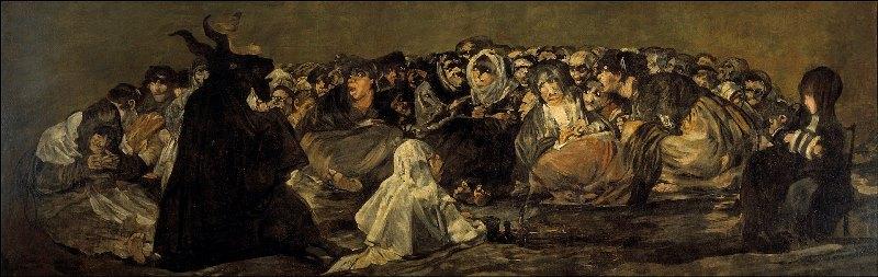 Шабаш Ведьм (Большой Козел) - самые известные картины Гойи