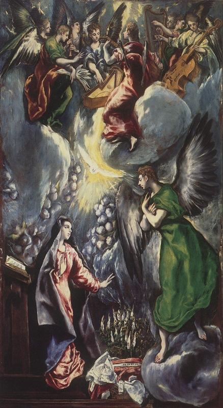 Благовещение - Эль Греко