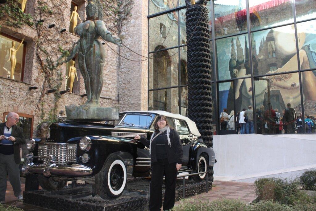 Дождливое такси - Сальвадор Дали