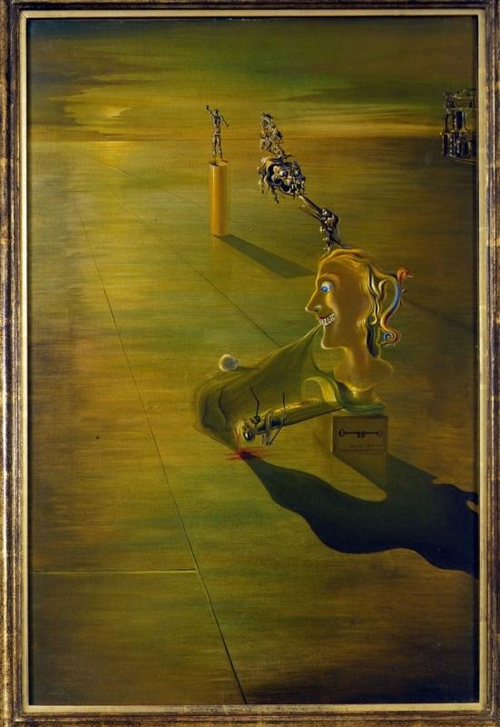 Рассвет - Сальвадор Дали (1930)