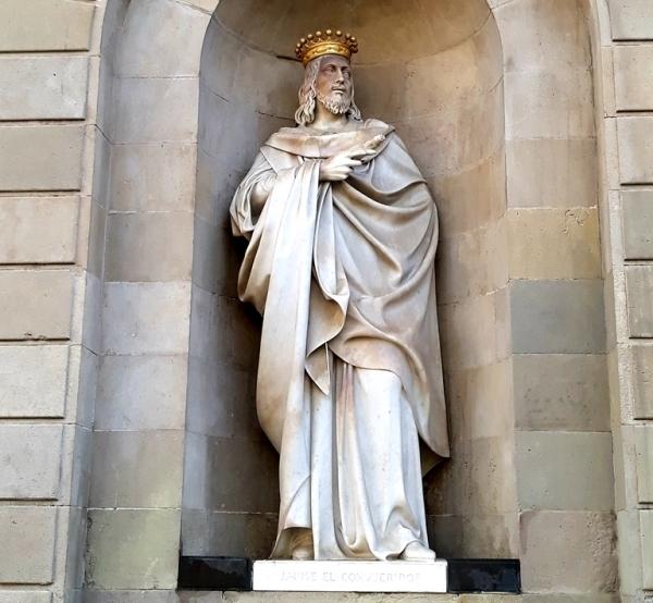 Памятники и скульптуры Барселоны - Хайме Завоеватель