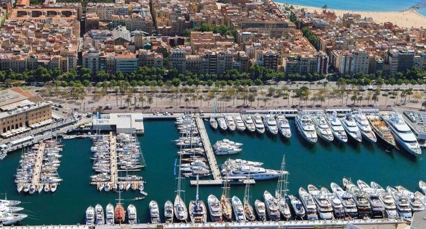 Старый Порт Барселоны готовится к приему мегаяхт