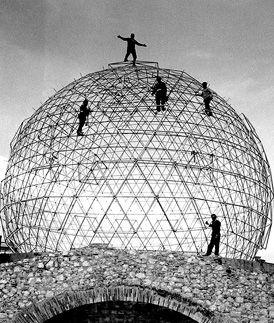 Геодезический купол Театра-музея Сальвадора Дали в Фигерасе