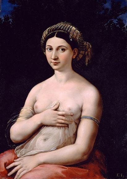 Самые известные картины в мире - Форнарина - Рафаэль Санти
