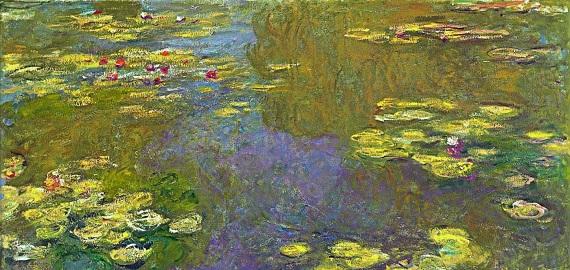 Самые дорогие картины Моне - Пруд с кувшинками (Пруд с водяными лилиями)