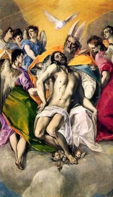 Троица - самые известные картины Эль Греко