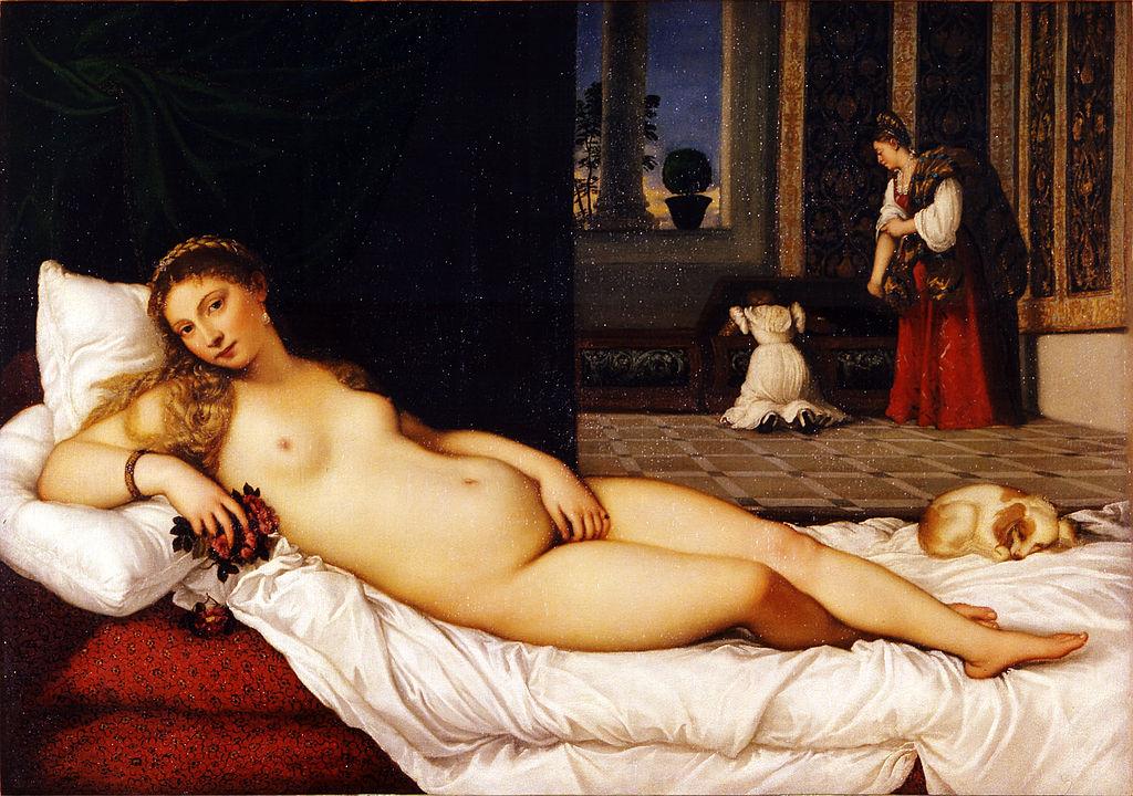 Венера Урбинская - Тициан