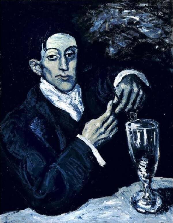 Портрет Анхеля Фернандеса де Сото - Пабло Пикассо