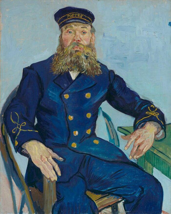 Портрет почтальона Жозефа Рулена - Винсент Ван Гог