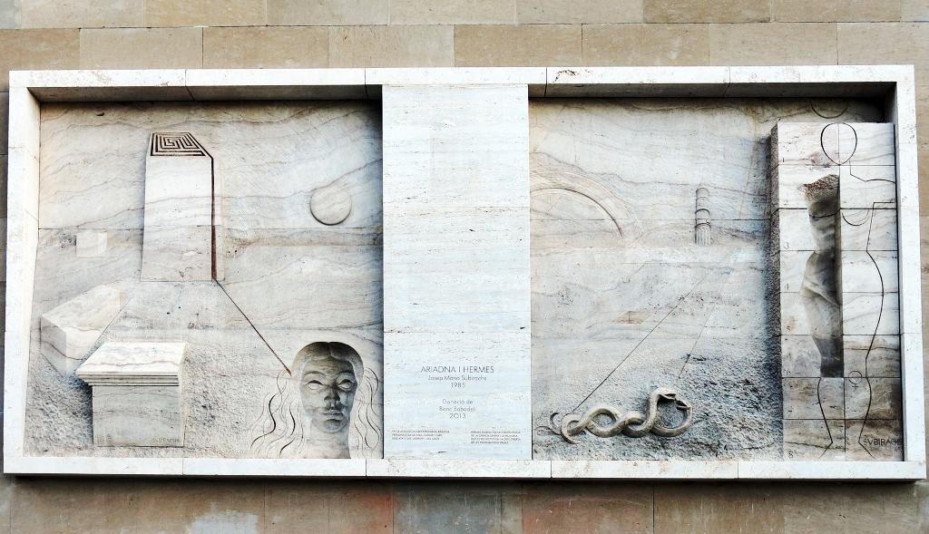 Ариадна и Гермес - скульптуры аббатства Монсеррат